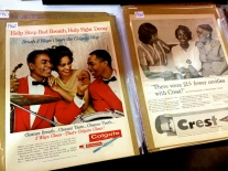 I thought these ads from the 1960's were really neat.