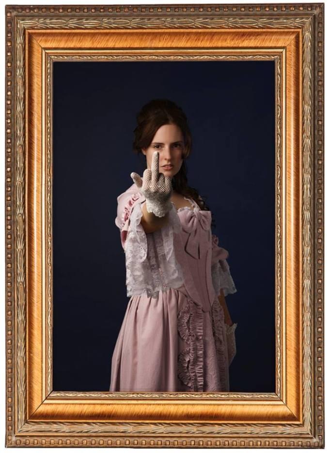 ladylike_framed